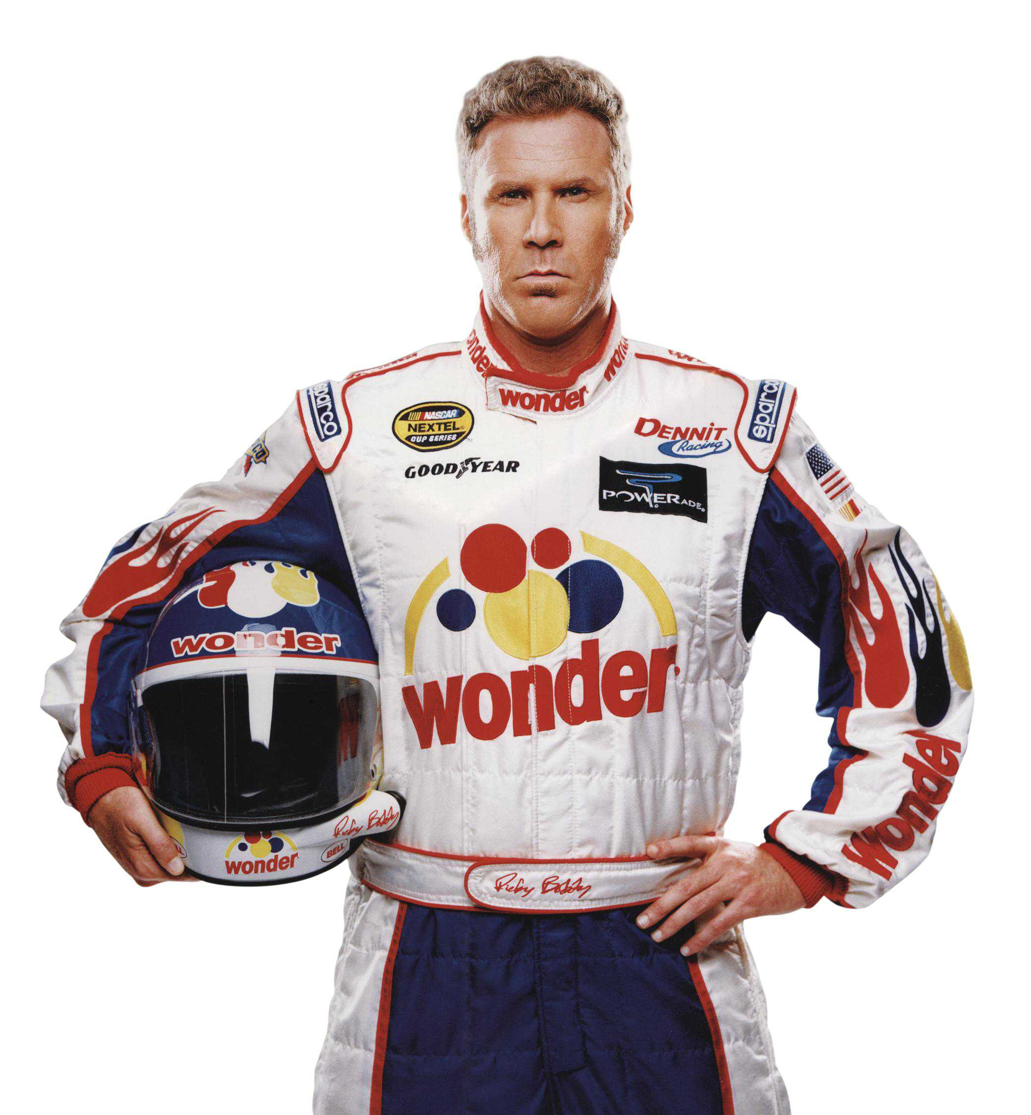 Ricky Bobby Returns Wonder Bread To Sponsor Kurt Busch At